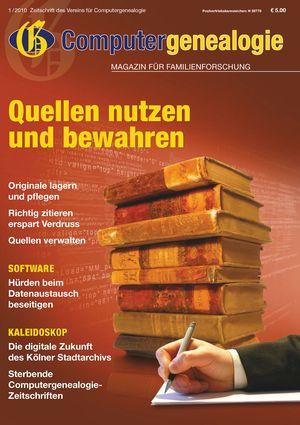 Titelbild Magazin 2010/01