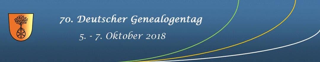 70. Genealogentag