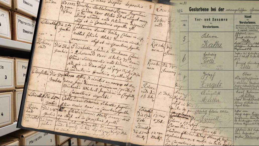Tagung: Kirchenbücher als historische Quellen