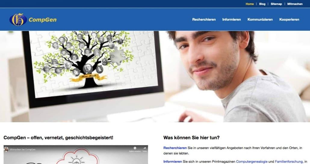 CompGen-Blog und CompGen-Homepage: ein Jahr online!