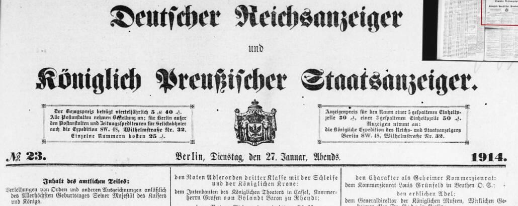 Deutscher Reichsanzeiger