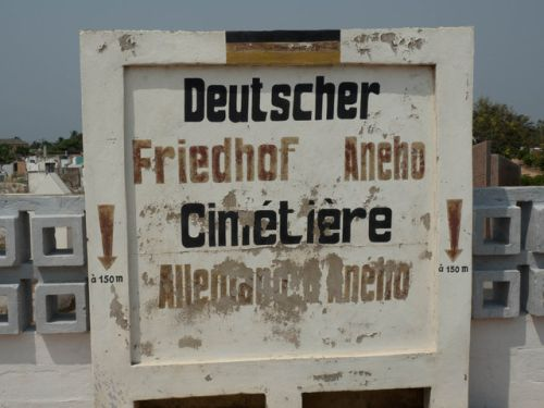 Deutscher Friedhof in Togo