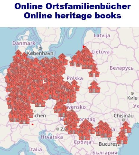 Drei neue Online-Ortsfamilienbücher