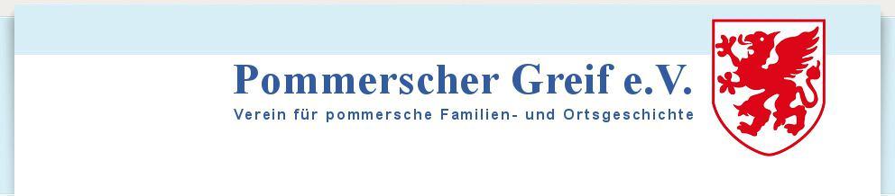 Pommerscher Greif Header