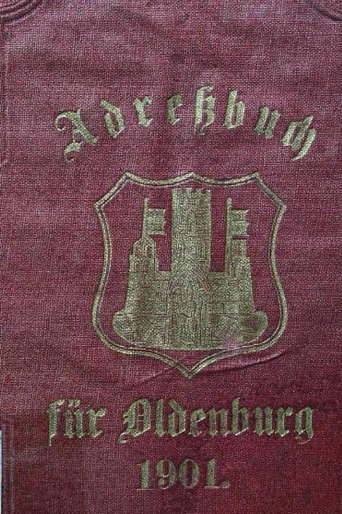 DES: Adreßbuch der Residenzstadt Oldenburg 1901