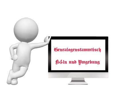 Genealogenstammtisch in Köln und Umgebung am 10.07.2019