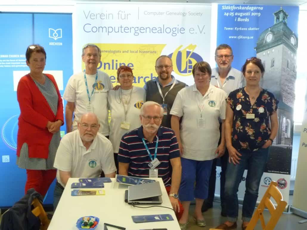 Eindrücke vom schwedischen Genealogentag in Borås am 24.-25.8.2019
