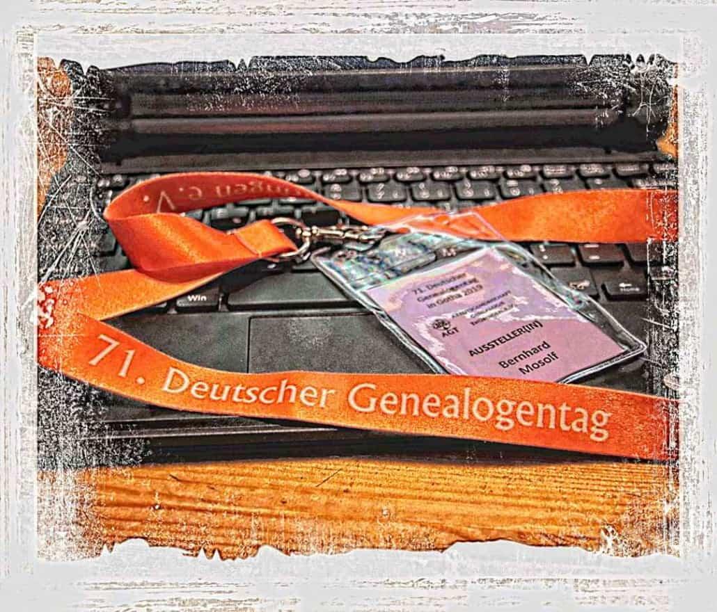 Das also war der 71. Deutsche Genealogentag in Gotha