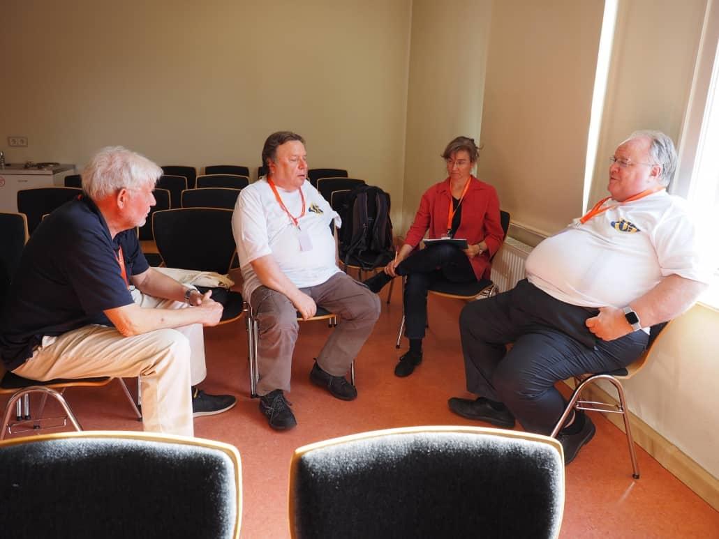 CompGen News-Redaktion trifft sich in Gotha