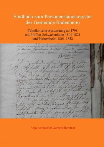 Personenstandsregister der Verbandsgemeinde Sprendlingen-Gensingen