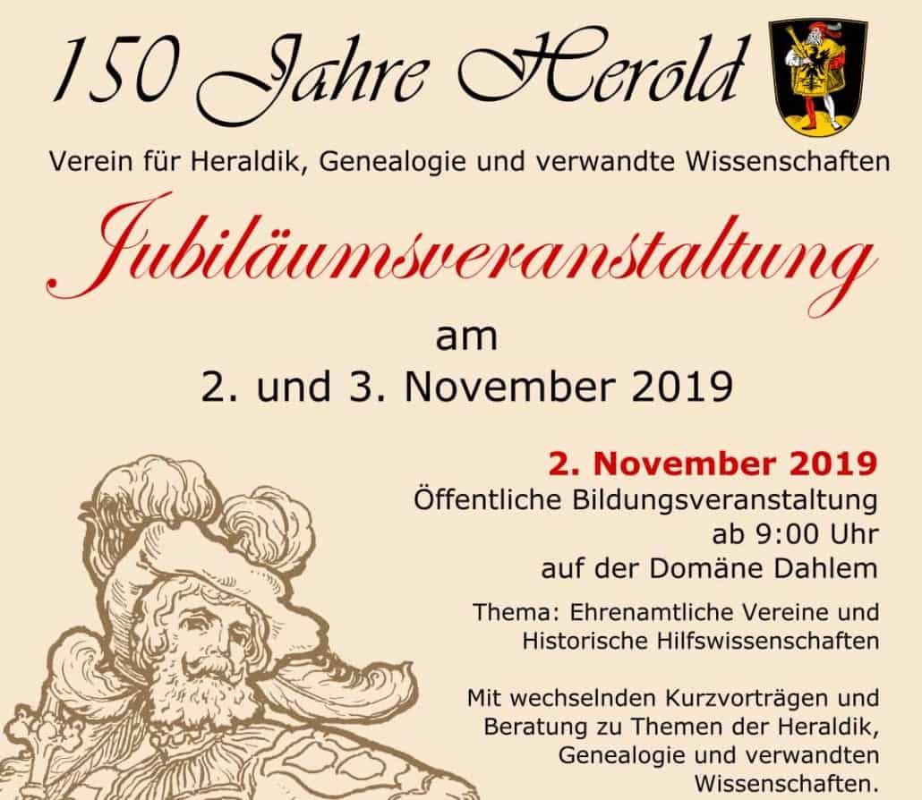 """150 Jahre Verein """"Herold"""""""