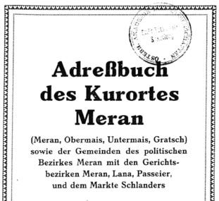 """Neues aus dem CompGen-Projekt """"Historische Adressbücher"""""""
