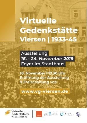 Virtuelle Gedenkstätte Viersen 1933-1945