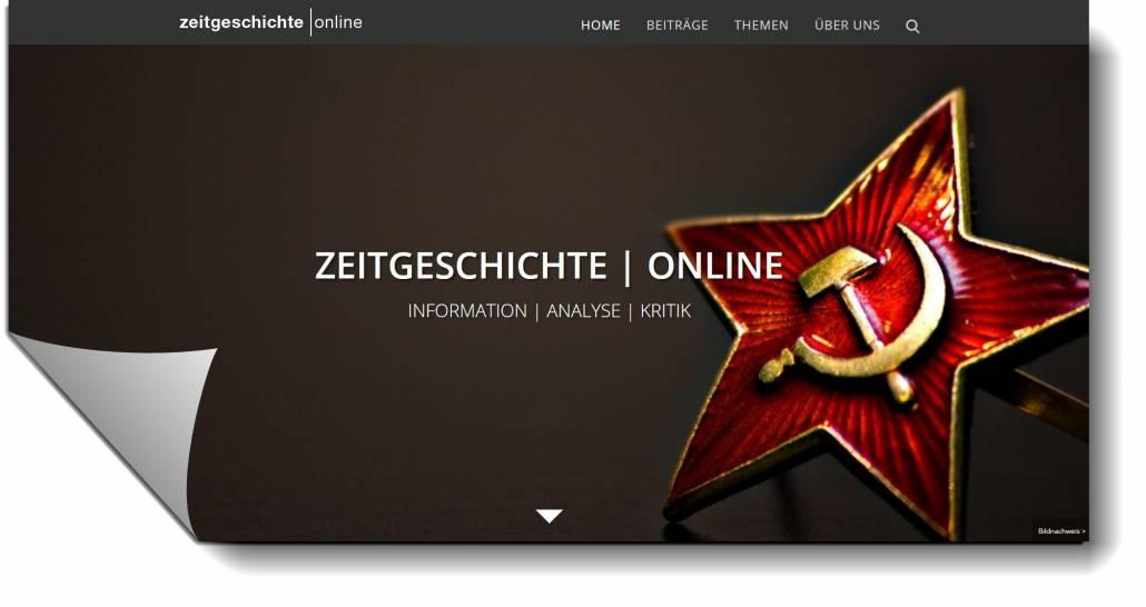 """Zeitgeschichte-Online des Leibniz-Zentrum für Zeithistorische Forschung  Potsdam (ZZF) ist """"open access"""""""