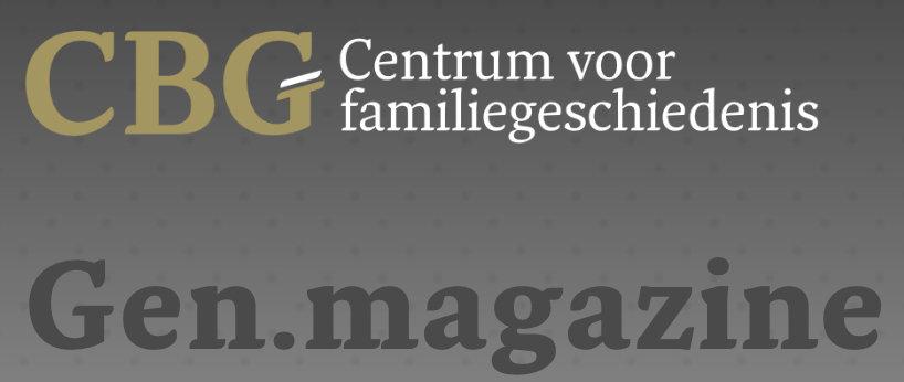 Gen.magazine 4/2019: Suche in regionalen Zeitungen der Niederlande