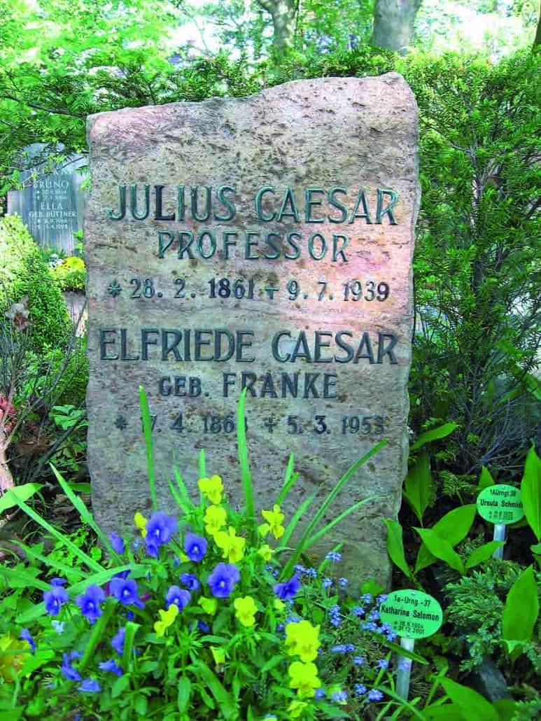 Ein Grab von Julius Caesar gefunden