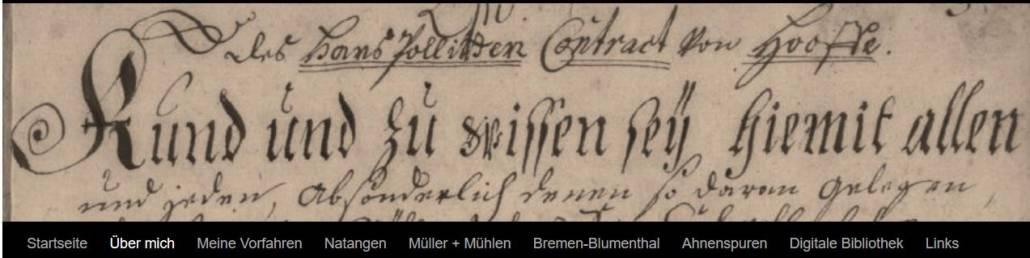 """Blogs kurz vorgestellt: Irmi Gegner-Sünklers """"Genealogie-Tagebuch"""""""