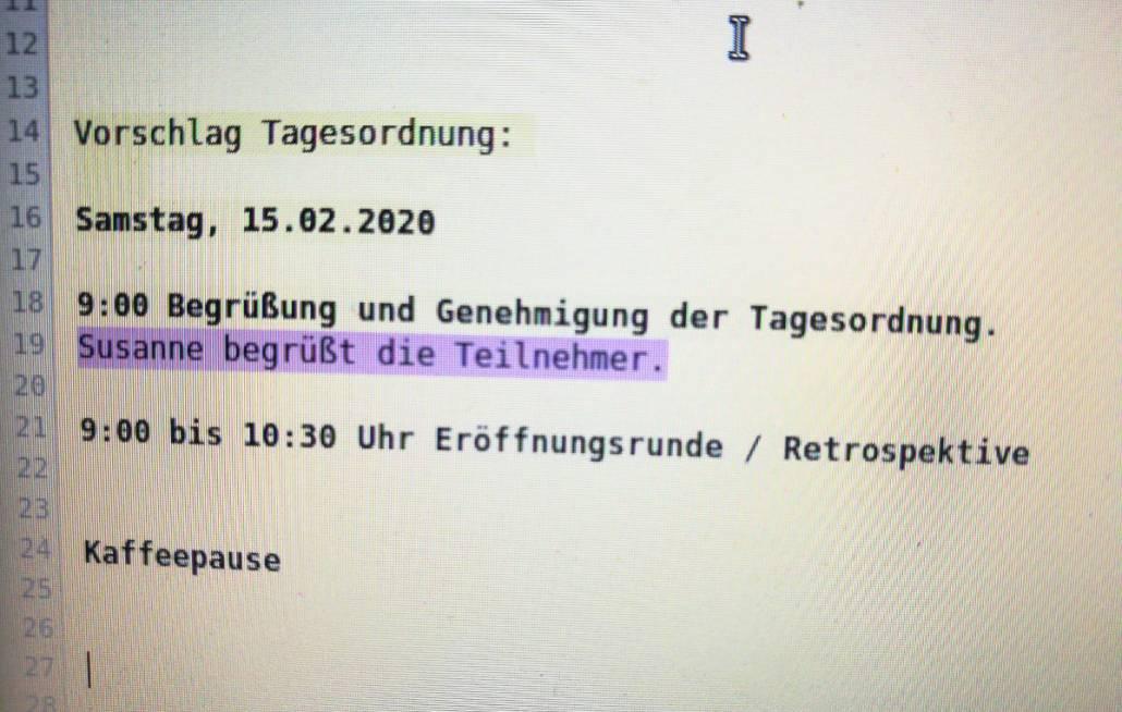 Vorstandsklausur Hannover