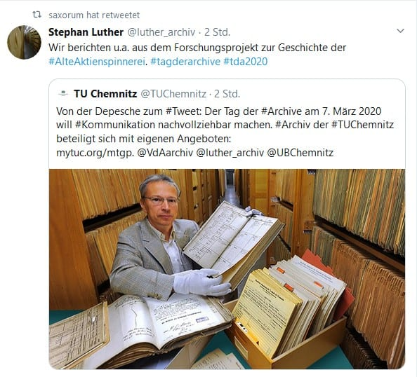 Achtung: Bundesweiter Tag der Archive 2020