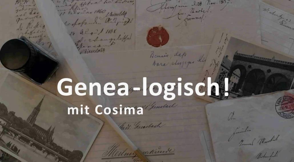 Genea-logisch! – Wie finde ich Personenstandsunterlagen?