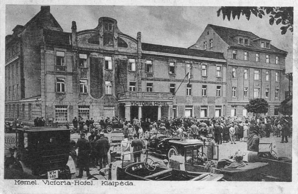 Victoria-Hotel in Klaipeda, Memel