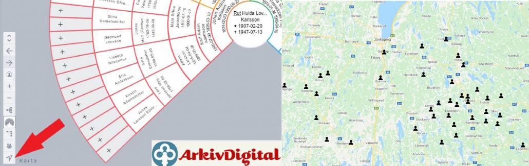 Das schwedische ArkivDigital mit neuen Angeboten
