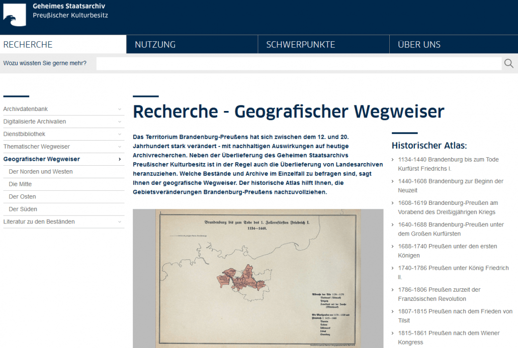 Territoriale Veränderungen in Brandenburg-Preußen: Licht ins Dunkel gebracht