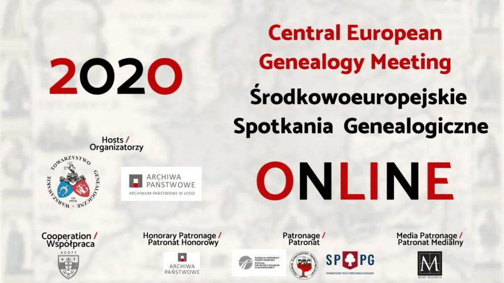 Mitteleuropäische genealogische Begegnungen 2020