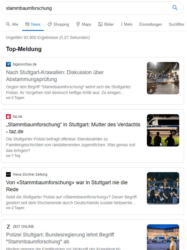 """""""Stammbaumforschung"""". Aspekte eines Aufregers"""
