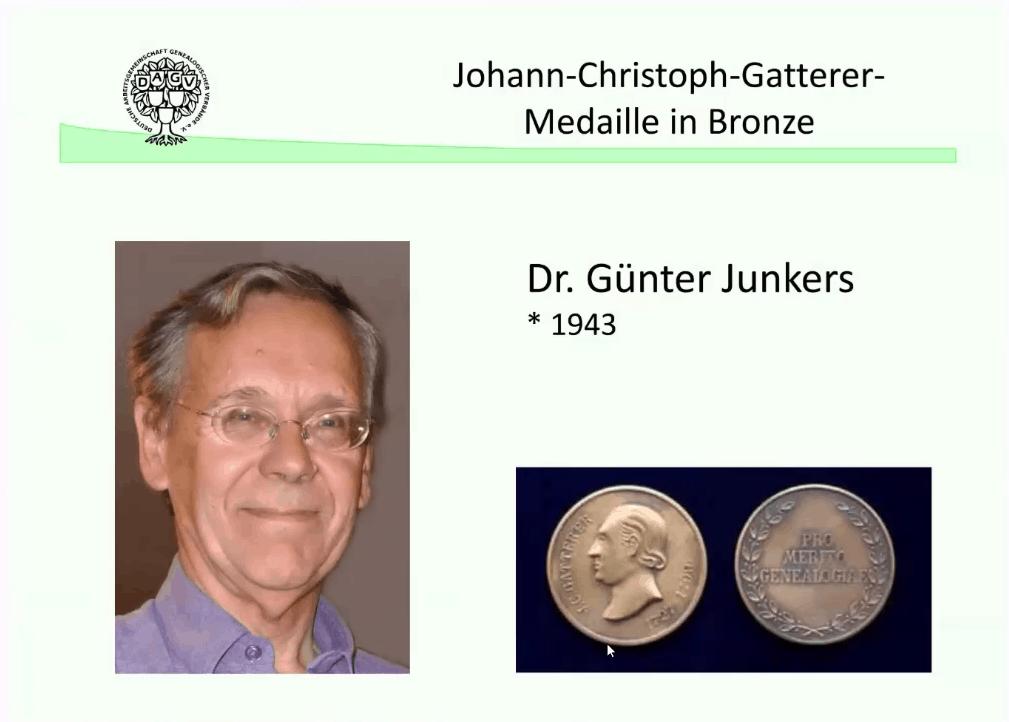 Der Mann aus dem Maschinenraum der Genealogie in Deutschland