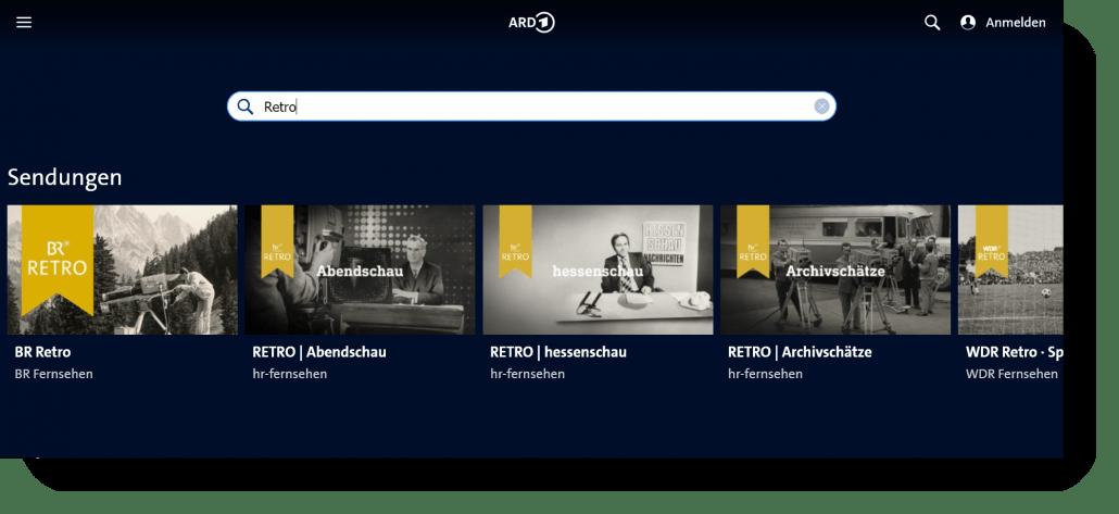 ARD Retro und der Welttag des audiovisuellen Erbes