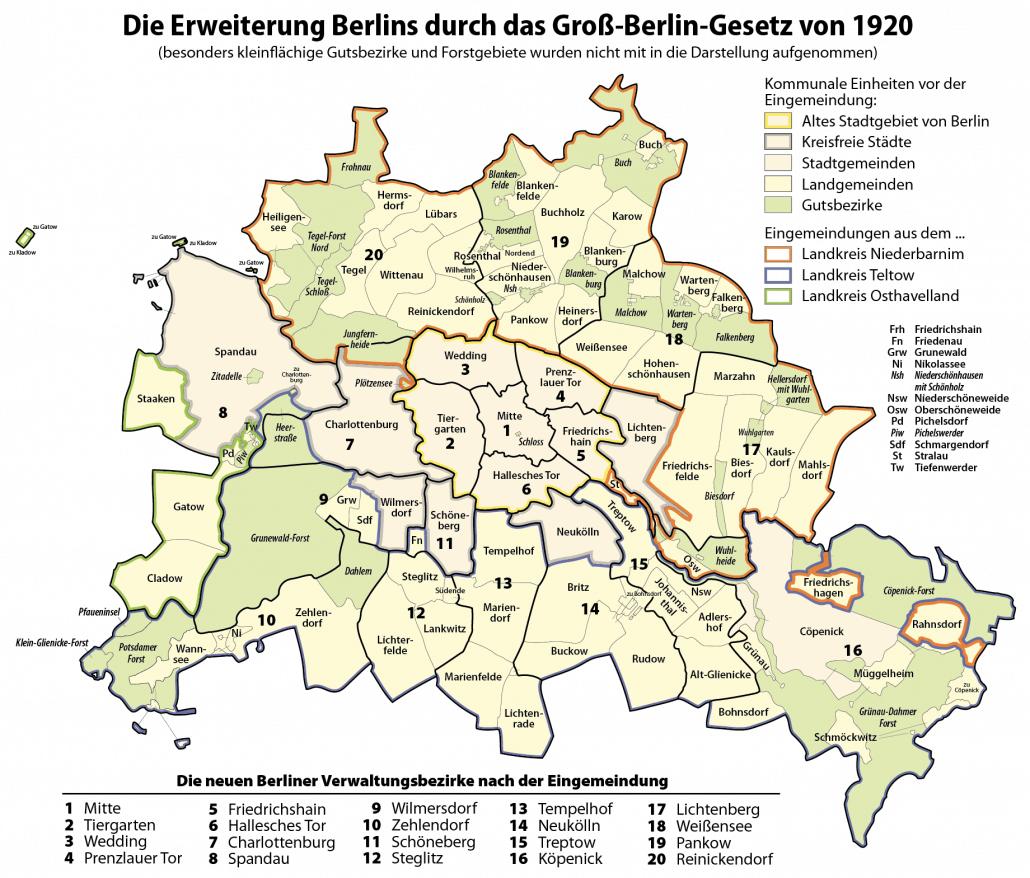 Ein großer Wurf? 100 Jahre Groß-Berlin - Tagung im livestream