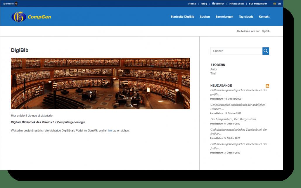 DigiBib war das Thema - die Aufzeichnung unseres Meetings ist jetzt online