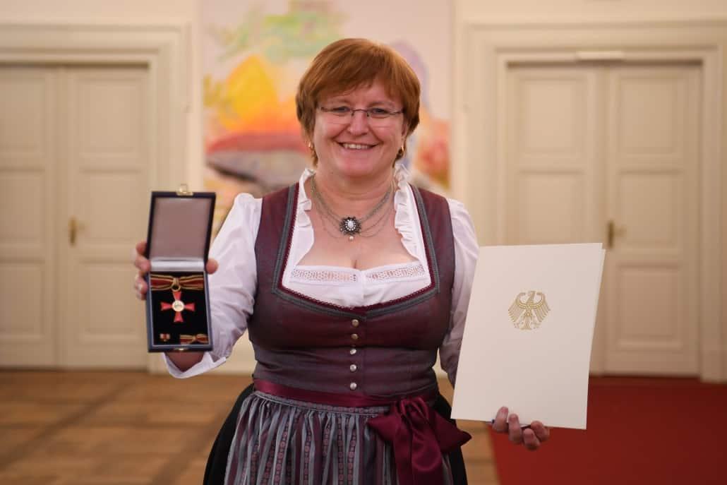 Bundesverdienstkreuz für Sabine Scheller