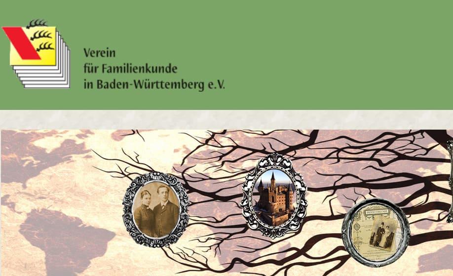100 Jahre VFKBW: Familienkunde in Baden-Württemberg