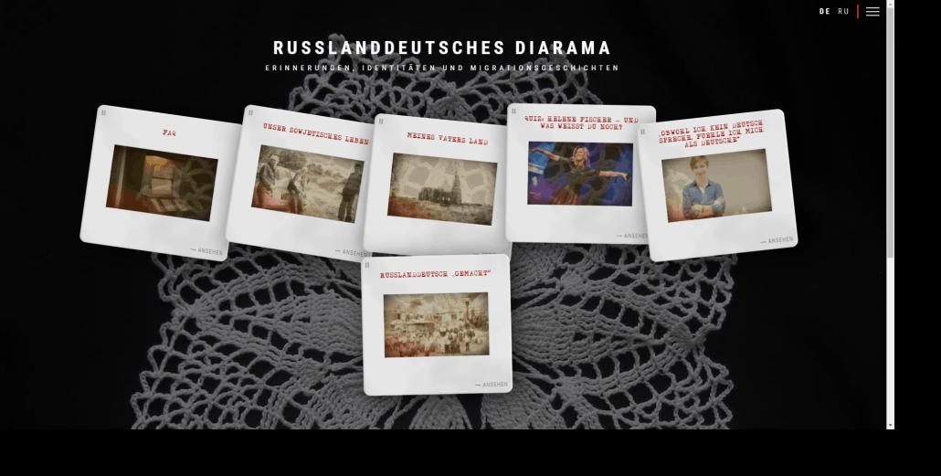 Russlanddeutsches Diarama