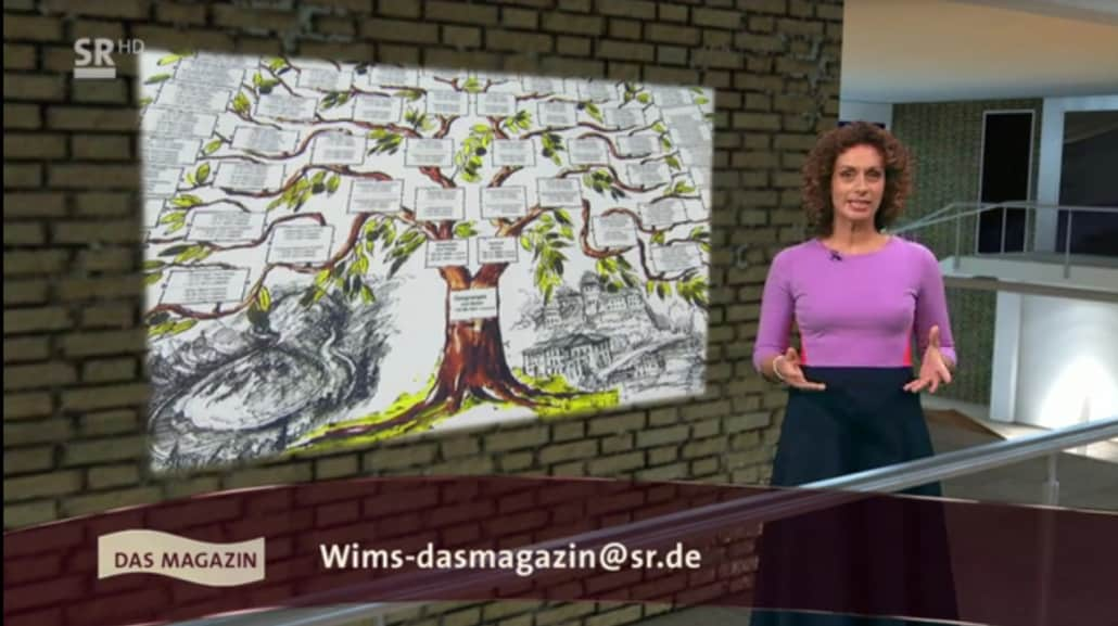 """Ahnenforschung im Regionalfernsehen """"Wir im Saarland"""""""