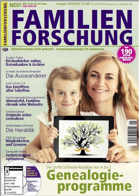 Das perfekte Lastminute-Geschenk: Die FAMILIENFORSCHUNG!