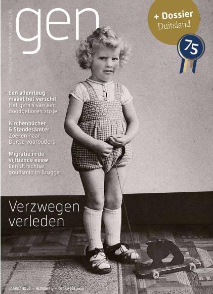 """Dossier """"Deutschland"""" im Dezemberheft GEN. aus den Niederlanden"""