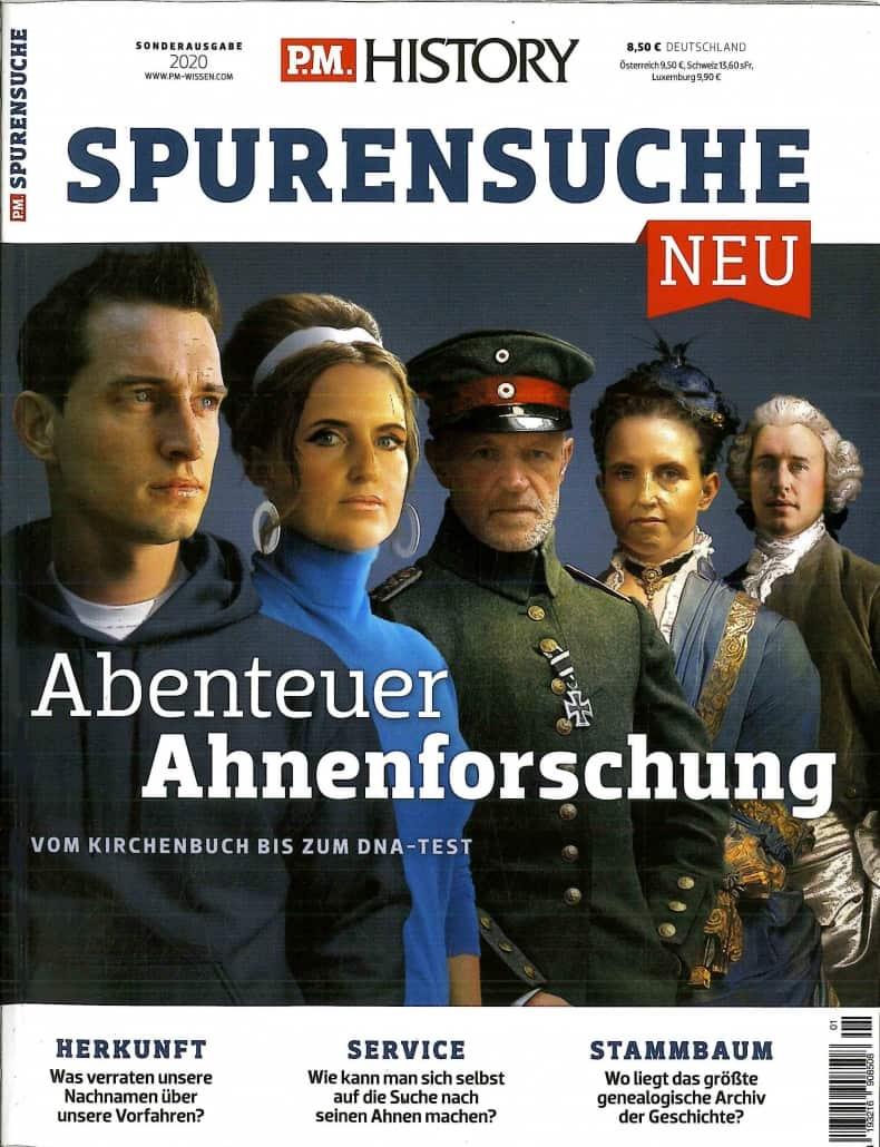 P.M.History Spurensuche - Sonderheft Ahnenforschung