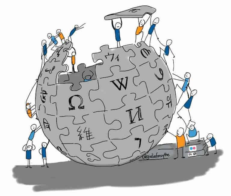 """Das """"Gedächtnis"""" der Welt? - Das Wikipedia Versprechen"""
