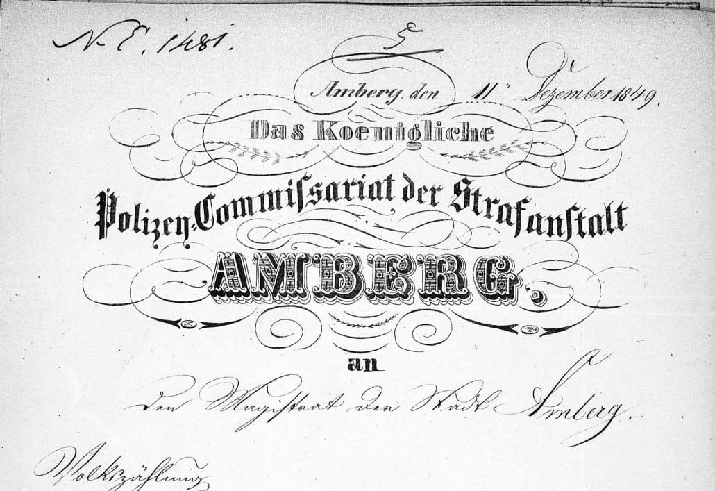 Neue und alte Quellen aus dem Stadtarchiv Amberg