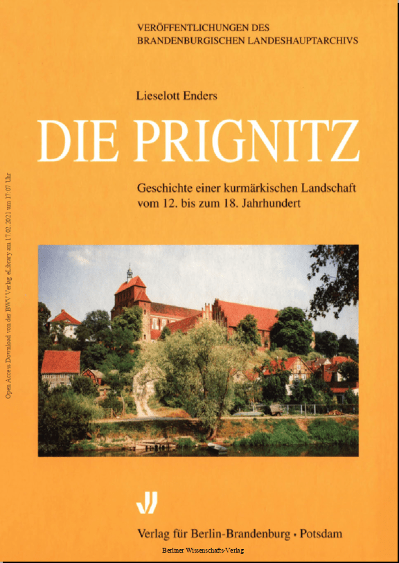 Das Brandenburgische Landeshauptarchiv macht seine Publikationen kostenfrei digital zugänglich