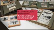 Kleiner Guide MEMORIAV für die Erhaltung von Fotografien