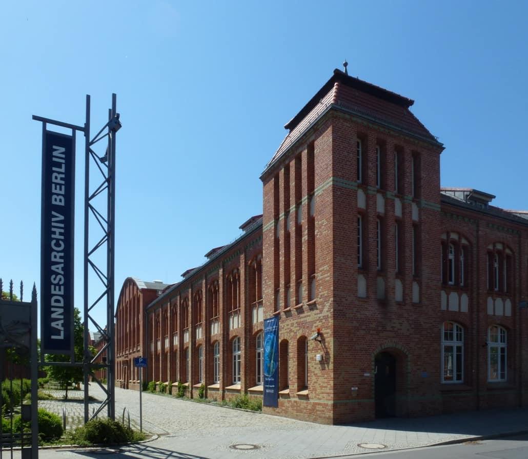Urkunden des Standesamts I Berlin bei Ancestry online