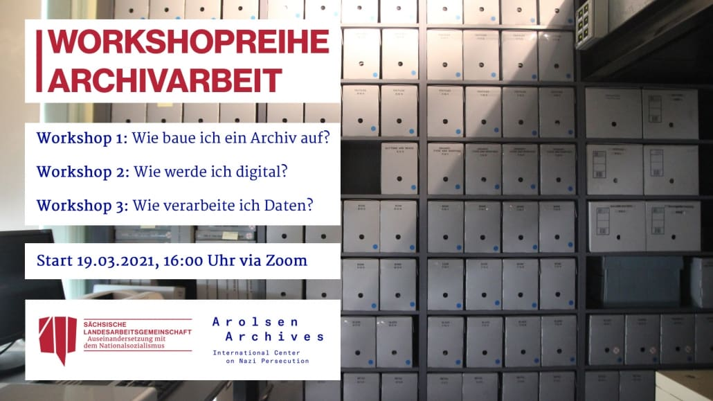 "Workshopreihe ""Archivarbeit"""
