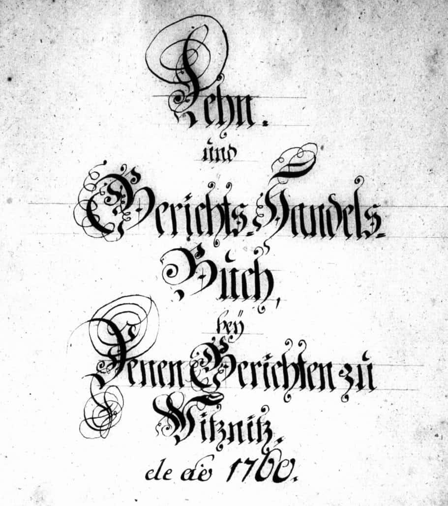Weitere Gerichtsbücher aus Sachsen online