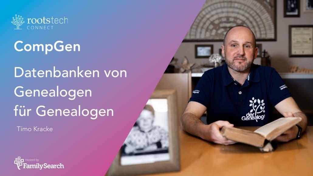 Timo Kracke heute live auf der RootsTech Connect