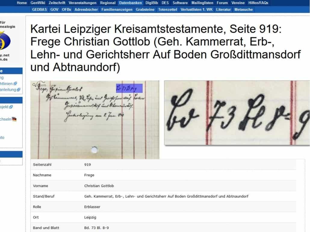 Geschafft! DES-Projekt zu Leipziger Testamenten abgeschlossen