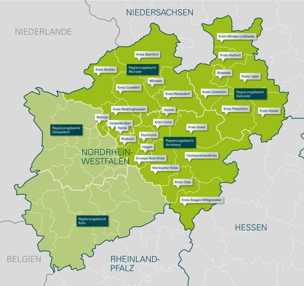 Zweitschriften der Sterberegister des Regierungsbezirks Arnsberg komplett online